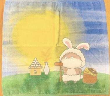 ハンドタオル(お月見)【お届け日指定不可】