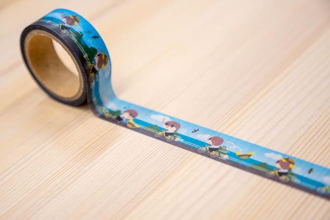 マスキングテープ(チャリできた☆)【お届け日指定不可】