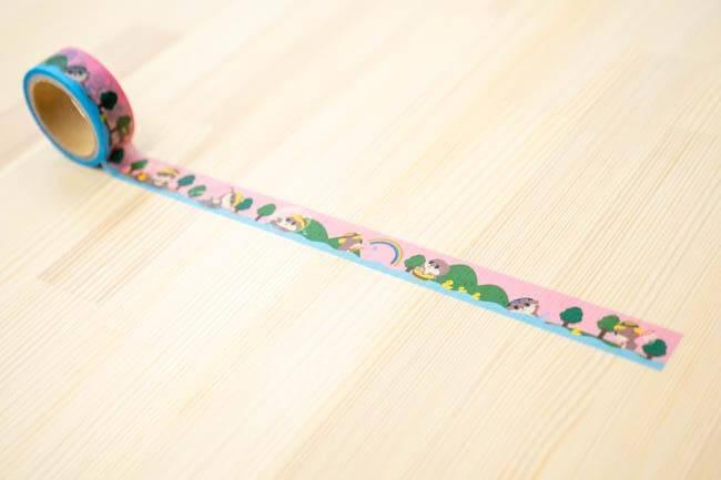 マスキングテープ(水遊び)【お届け日指定不可】