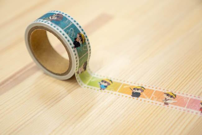マスキングテープ(しんじょう君collection)【お届け日指定不可】